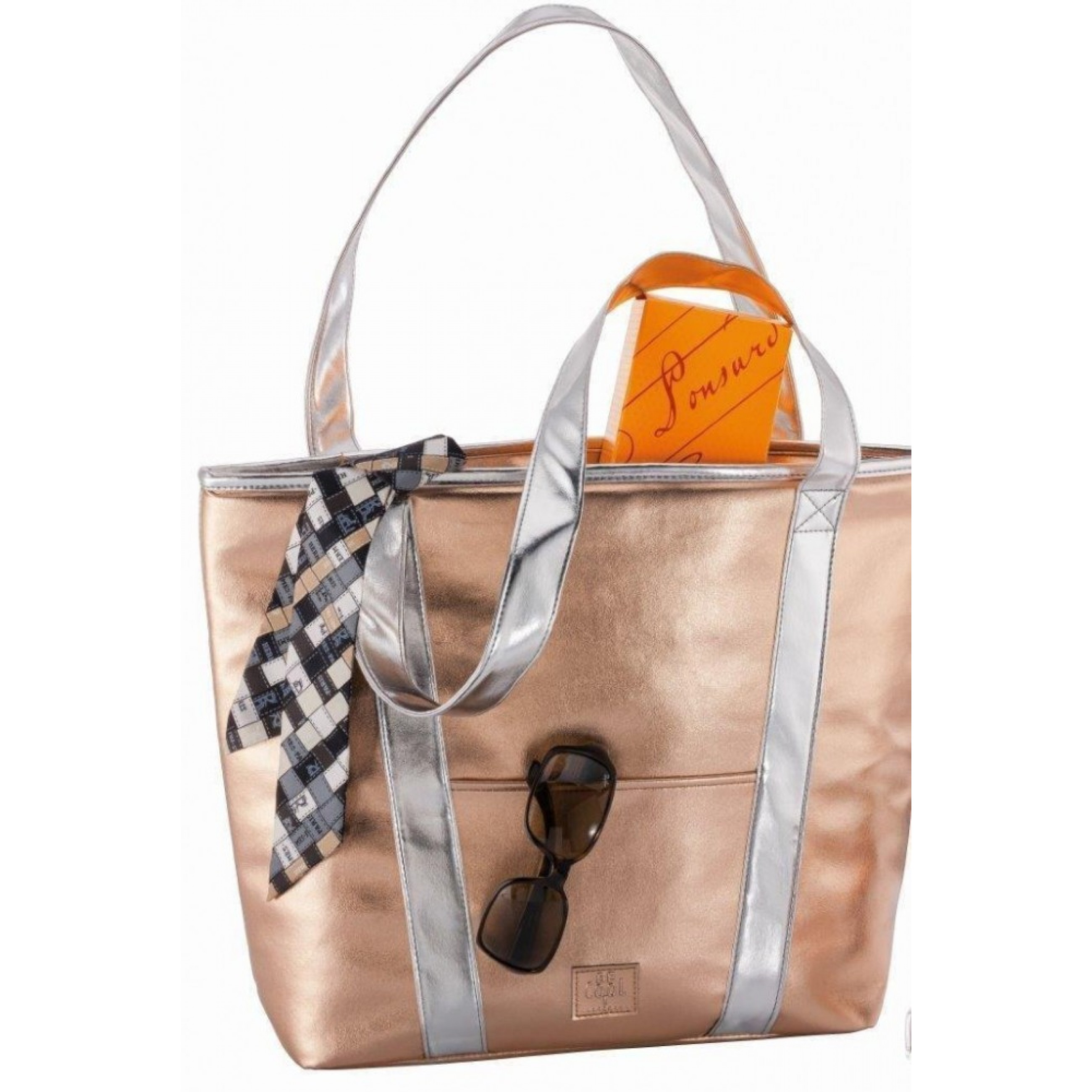 BE CooL Shopper in Rosegold/silber